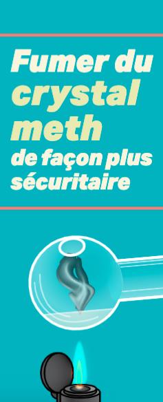Fumer du crystal meth de façon plus sécuritaire Image
