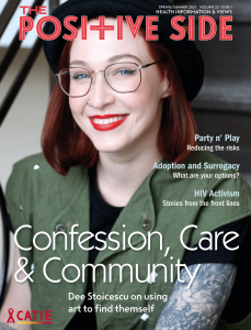 The Positive Side (Spring/Summer 2021): Confession, Care & Community Image